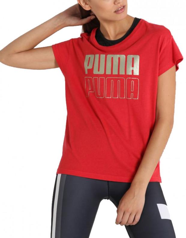 PUMA Modern Sport Graphic Tee Red