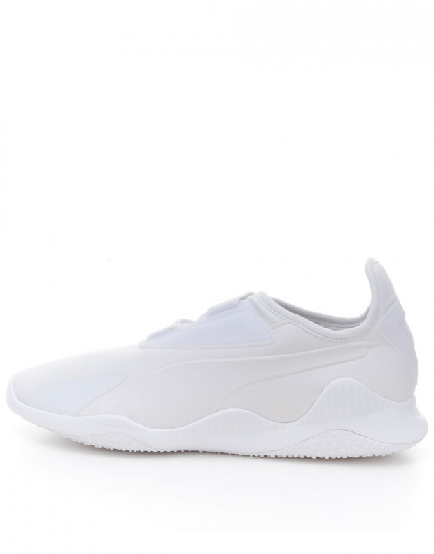 PUMA Mostro White Strap Up Slip On