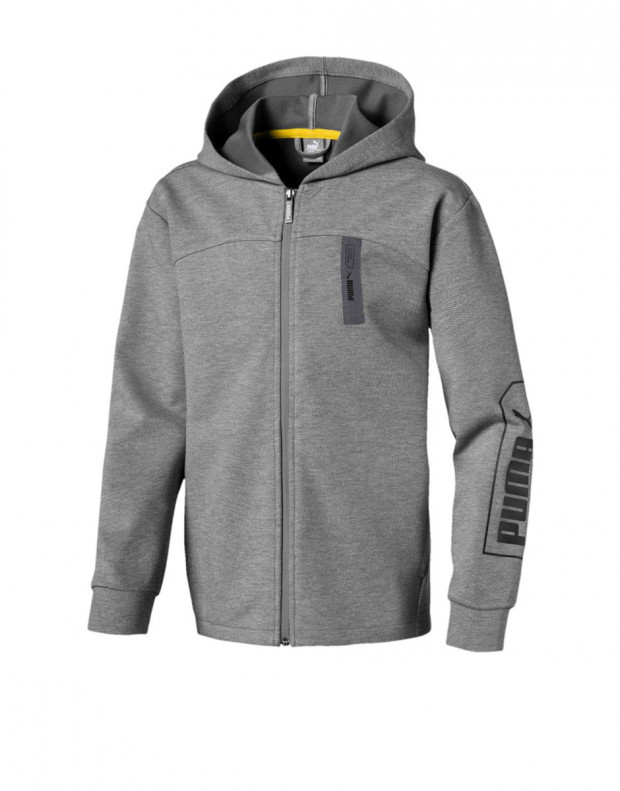 PUMA Nu-Tility Hooded Jacket Grey