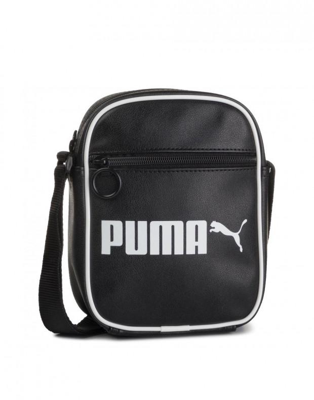 PUMA Portable Retro Bag Black