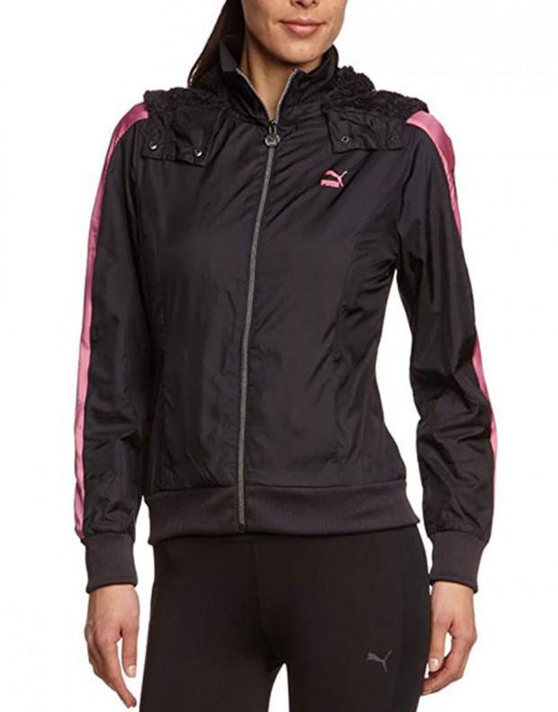 PUMA T7 Windbreaker Jacket Black