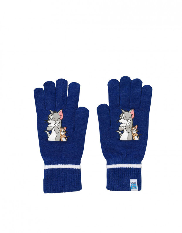 PUMA Tom&Jerry Active Knit Gloves Navy