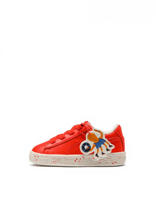 PUMA X Tc Basket Speckle Orange