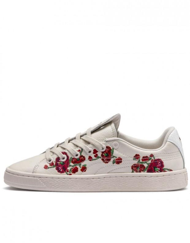 PUMA X Sue Tsai Basket Cherry Bombs White