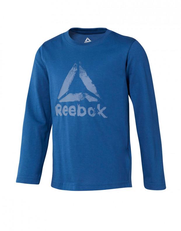 REEBOK Boys Elements Longsleeve Blouse Blue
