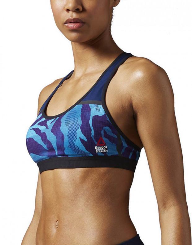 REEBOK CrossFit Racer Bra Blue