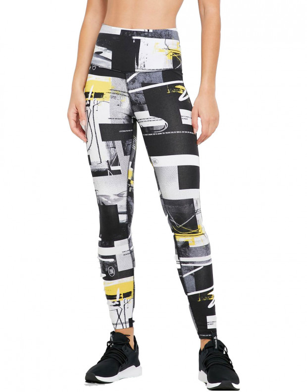 REEBOK Meet You There Cotton Leggings Multi