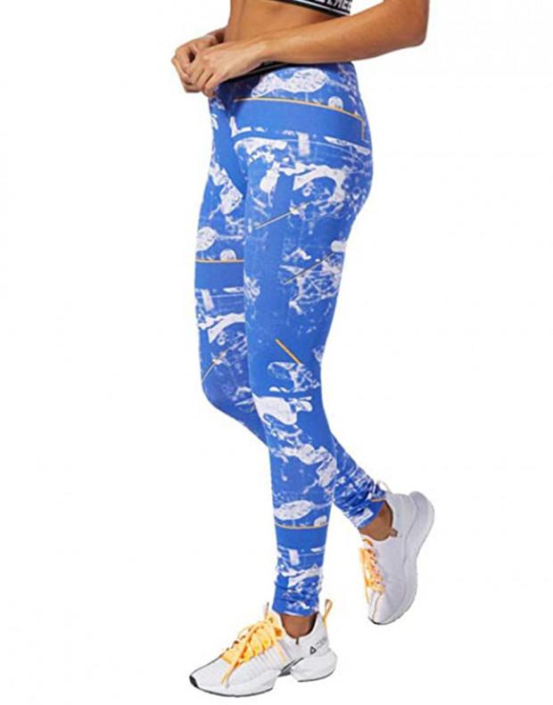 REEBOK Myt Dot Alt Legging Blue