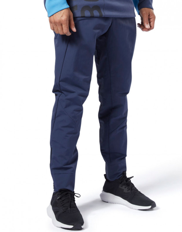 REEBOK One Series Training Colorblock Pants Navy