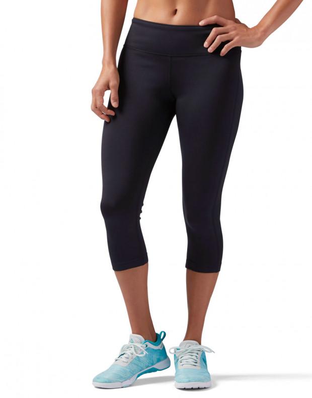 REEBOK Workout Ready Capri Leggings Blavk