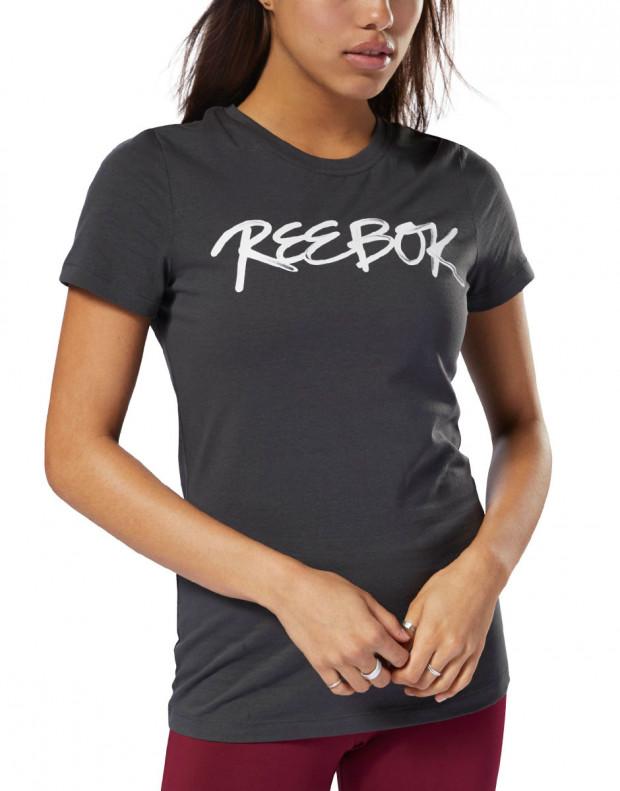 REEBOK GS Script Tee Black
