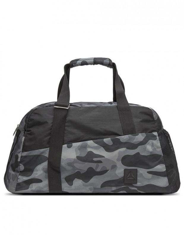 REEBOK Graphic Grip Duffle Bag Grey