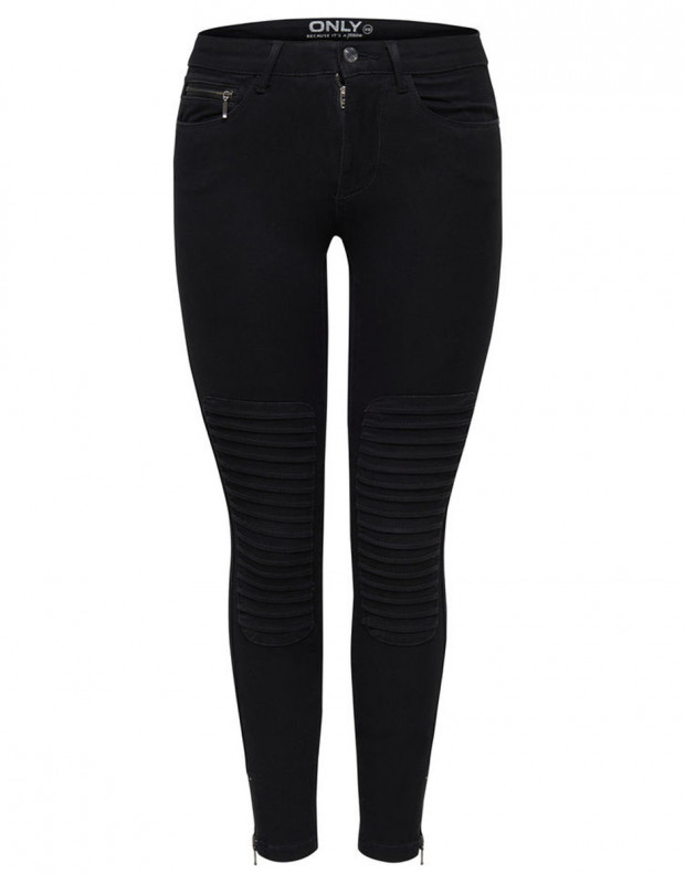 ONLY Royal Reg Ankle Race Skinny Jeans