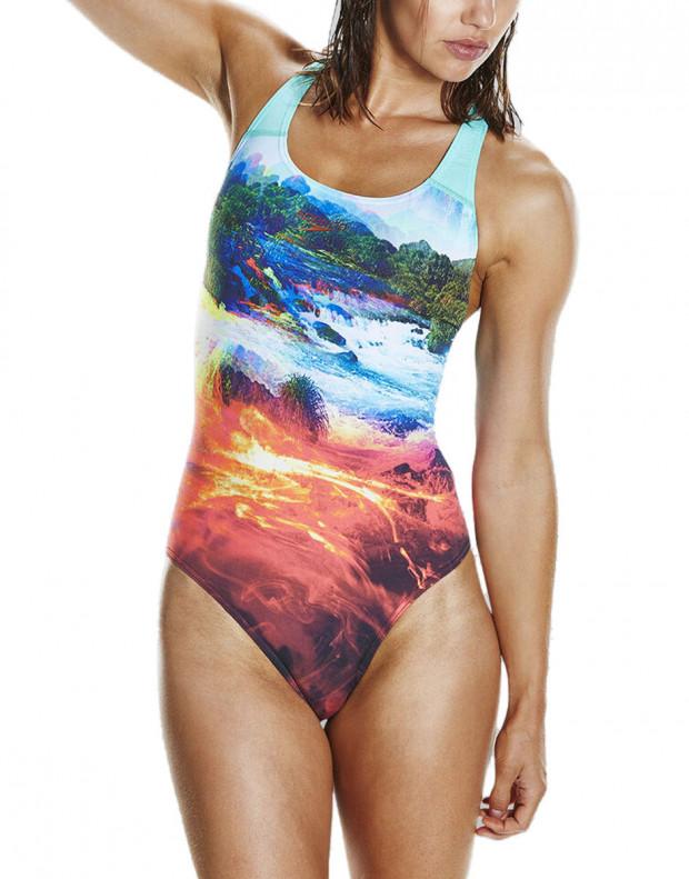 SPEEDO LavaFlash Digital Powerback Swimsuit