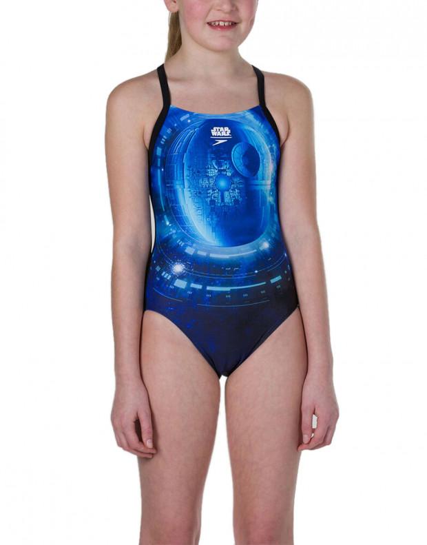 SPEEDO Star Wars Jedi Allover Thinstrap Crossback Swimsuit