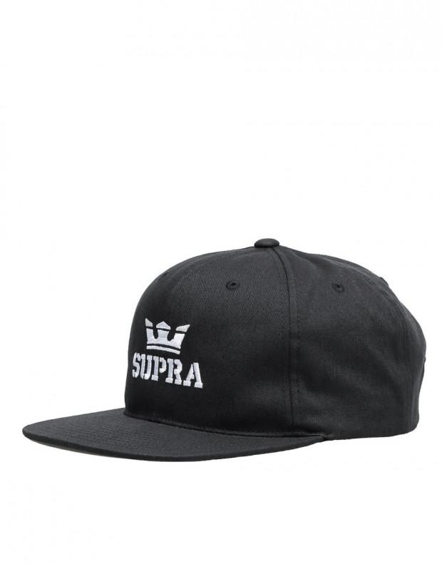 SUPRA Above Decon ZD Hat Black/White