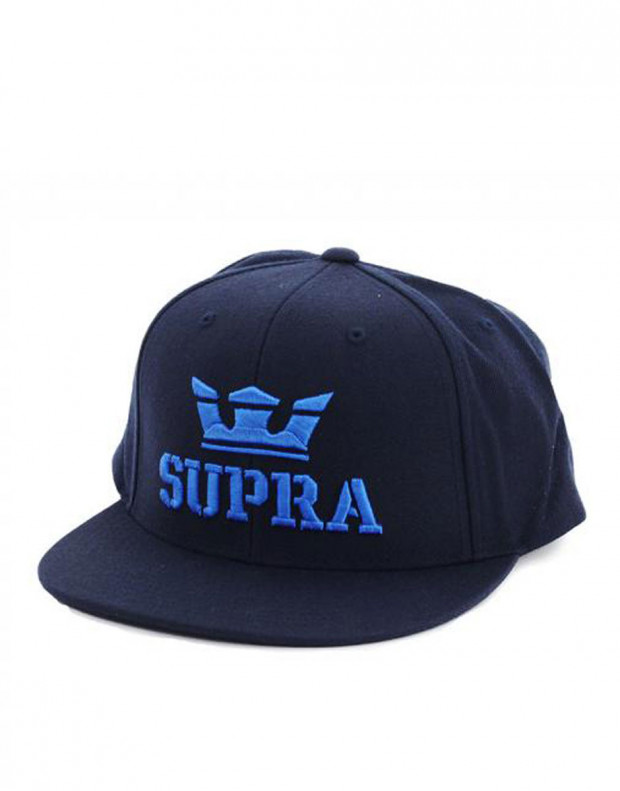 SUPRA Above II Snapback Hat Navy/Royal