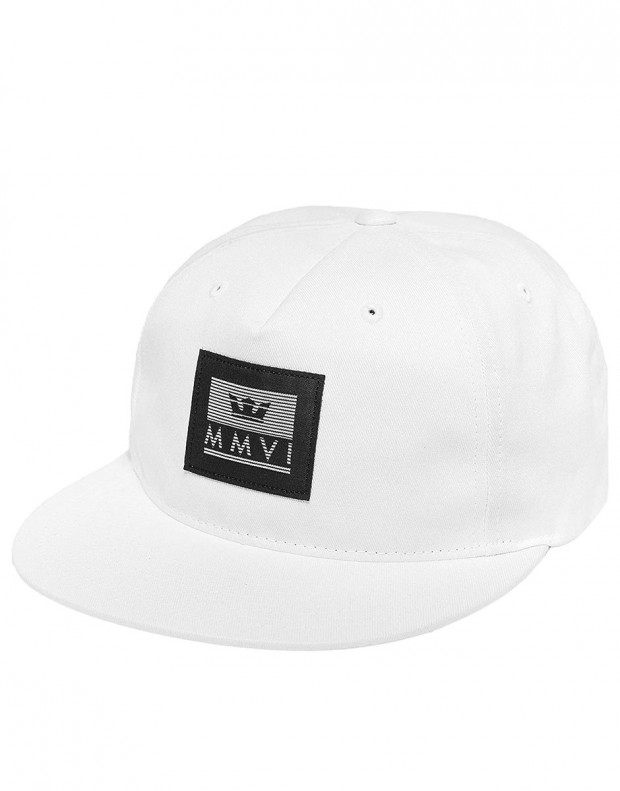 SUPRA Crown Jewel Patch Slider Hat White