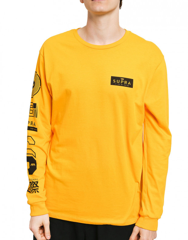 SUPRA Nexus Longsleeve Blouse Caution