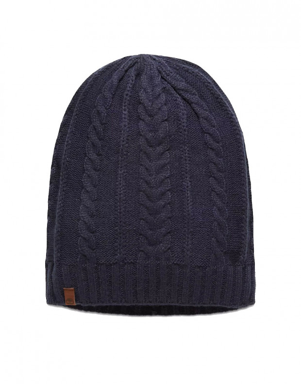 TIMBERLAND Cable Sloughty Beanie Hat Navy
