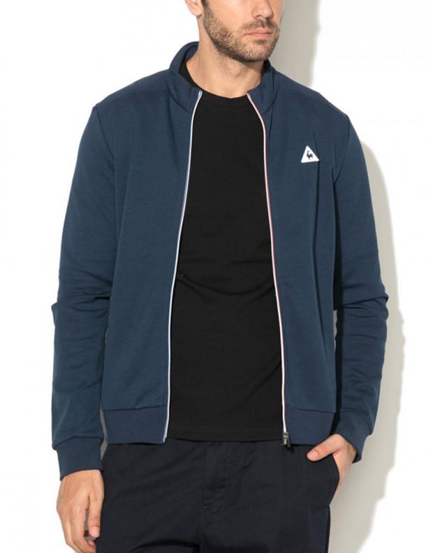 LE COQ SPORTIF Essentiels Full Zip Sweatsthirt Blue