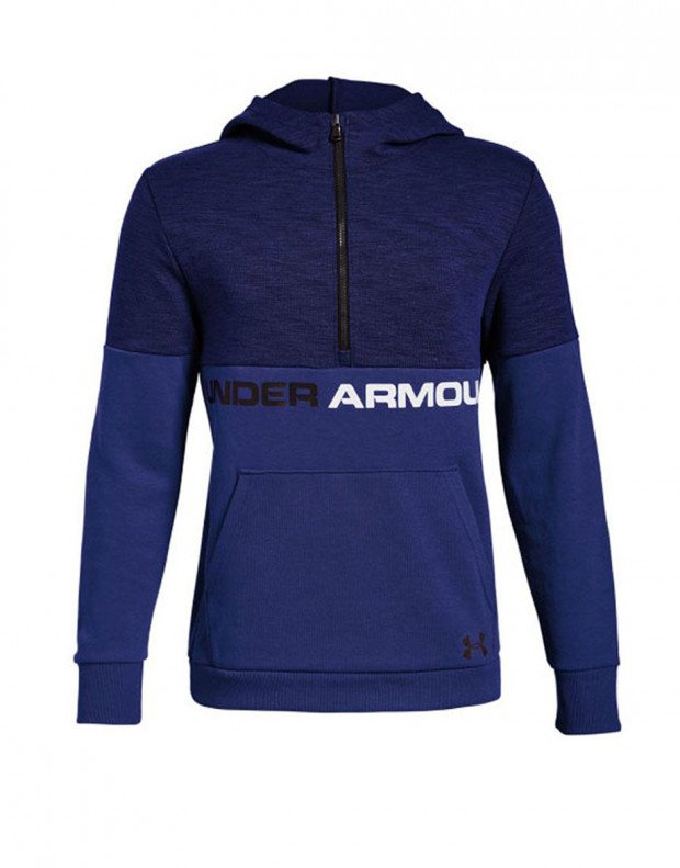 UNDER ARMOUR Unstoppable Double Knit Hoody Navy
