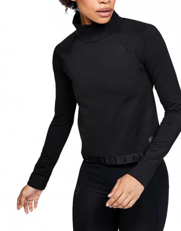 UNDER ARMOUR Rush Gold Gear Long Sleeve Black