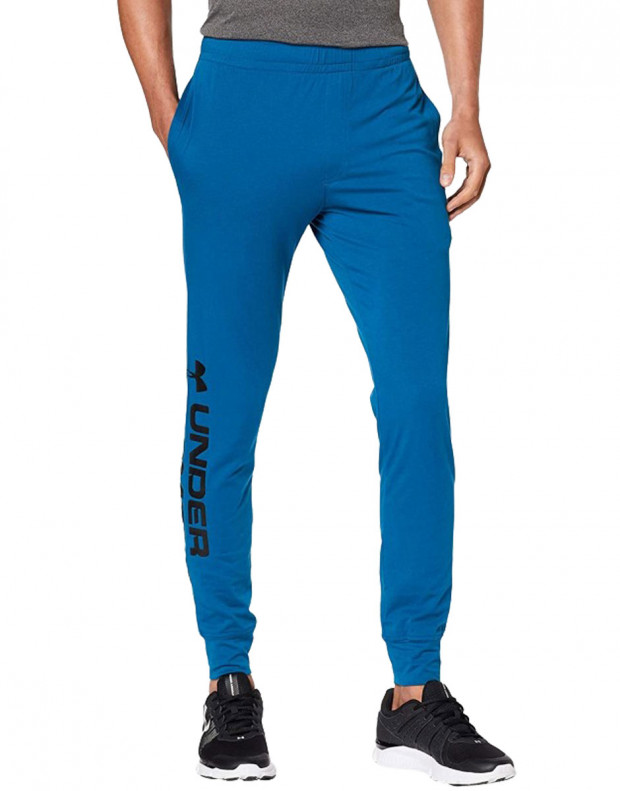 UNDER ARMOUR Sportstyle Graphic Mens Joggers Blue
