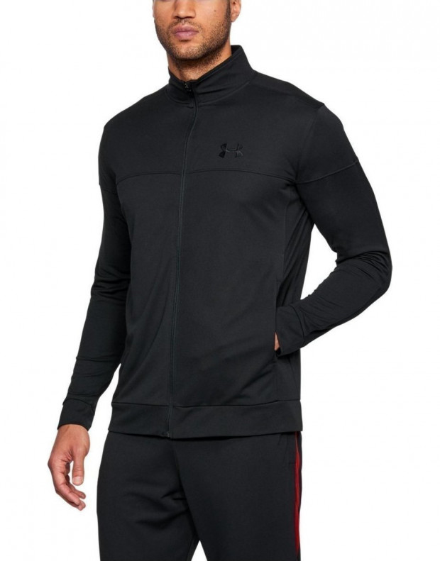 UNDER ARMOUR Sportstyle Pique All Black