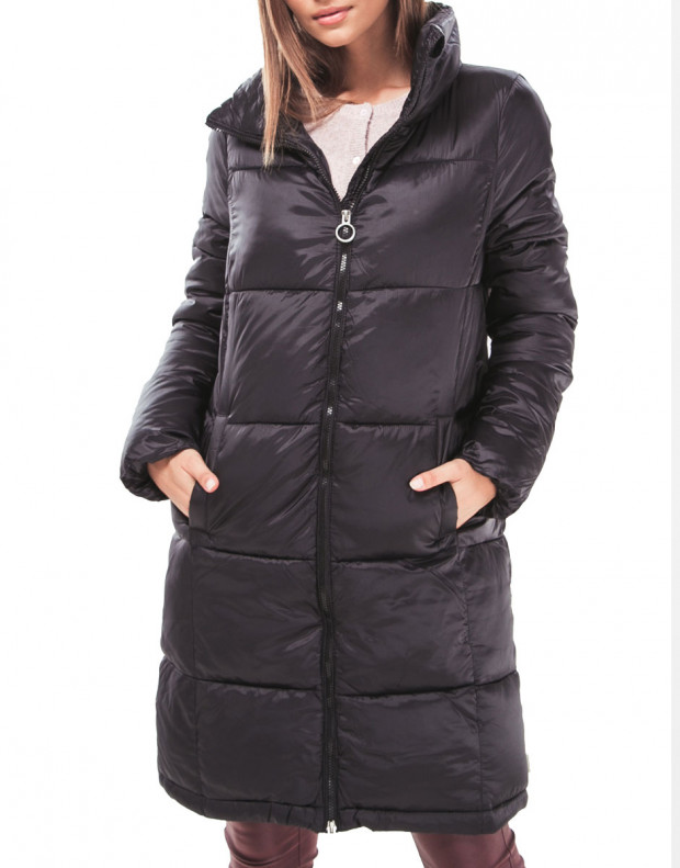 VERO MODA Long Puffer Jacket Black