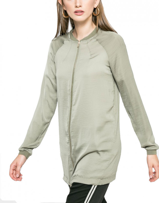 VERO MODA Vimeli Long Cover Up Green