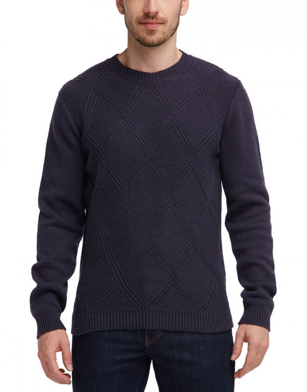 MUSTANG Diamonds Pullover Navy