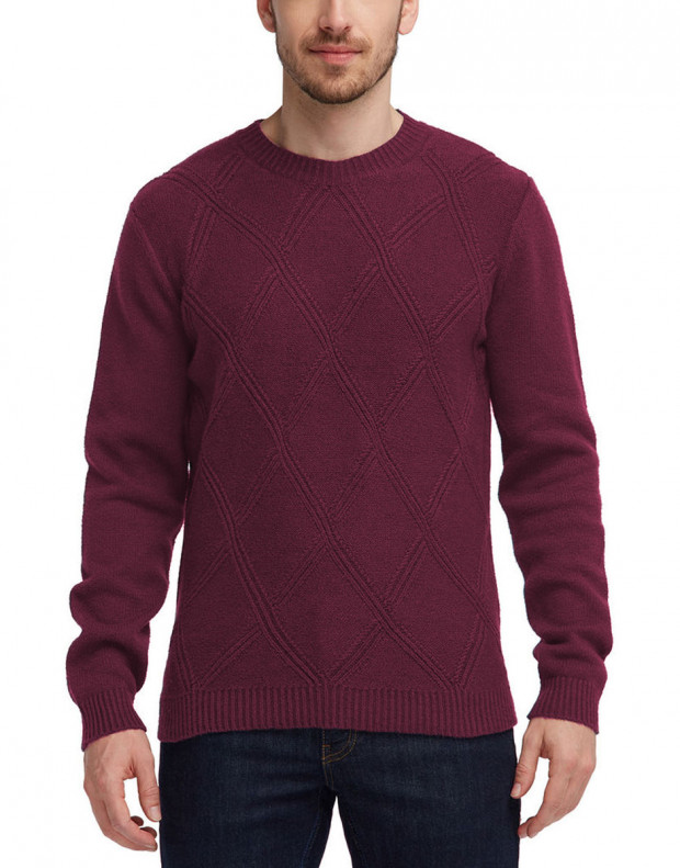 MUSTANG Diamonds Pullover Burgundy