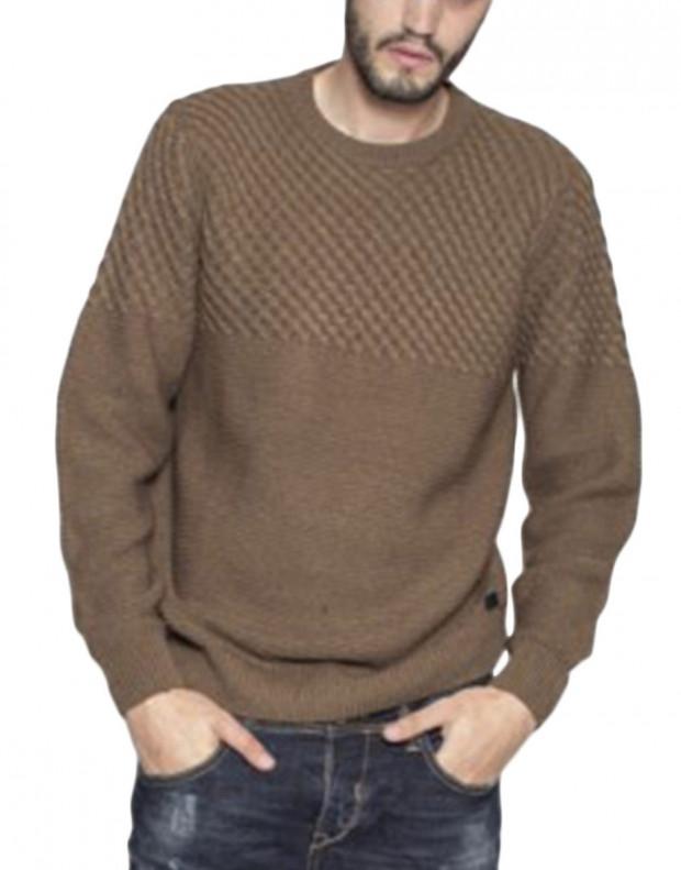 MZGZ Seldom Pullover Brown