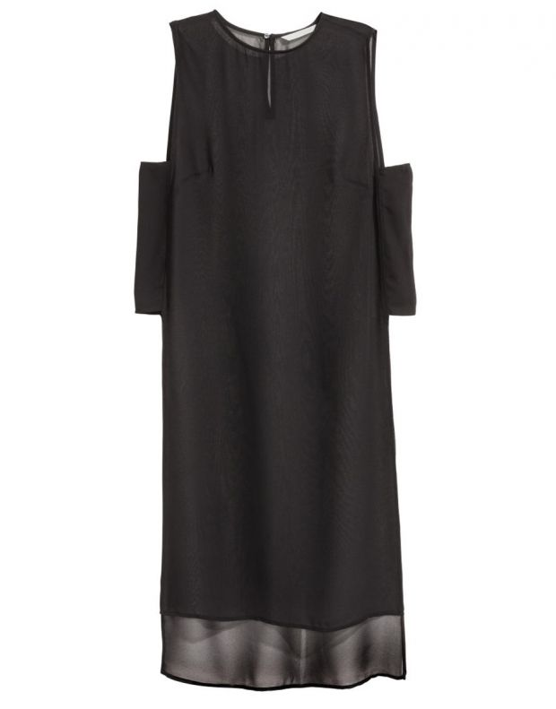 H&M Crepe Tunic Black - 2