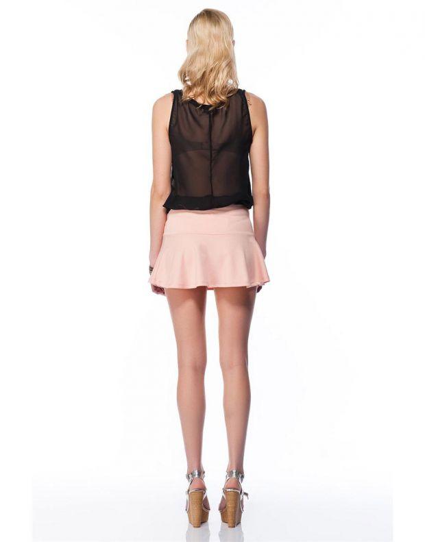 BERSHKA Full Skirt Pink - 2