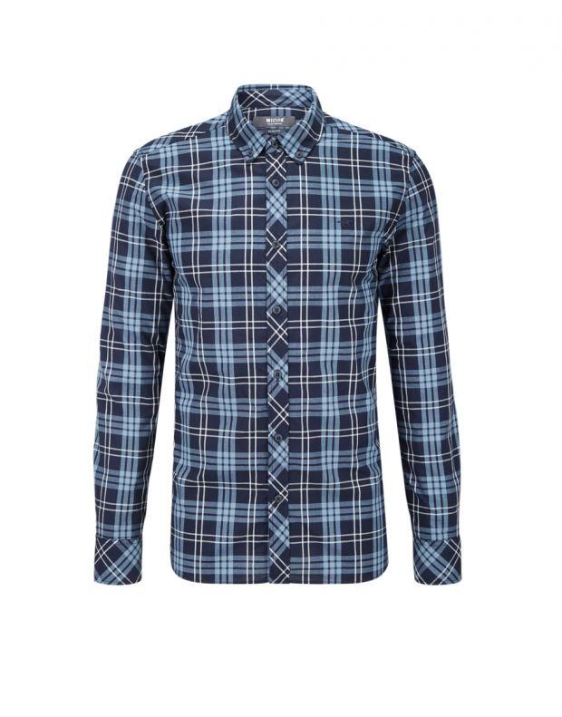 MUSTANG Square Shirt Blue - 1