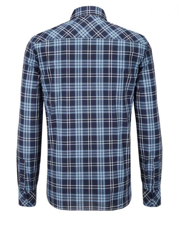 MUSTANG Square Shirt Blue - 2
