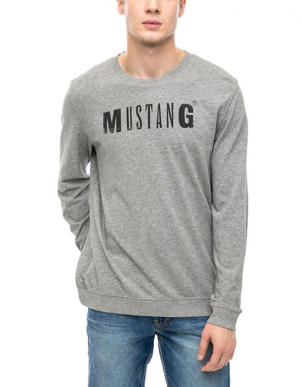 MUSTANG Logo Print Blouse - 1