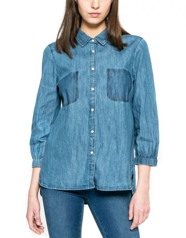 MUSTANG Denim Classic Shirt - 1