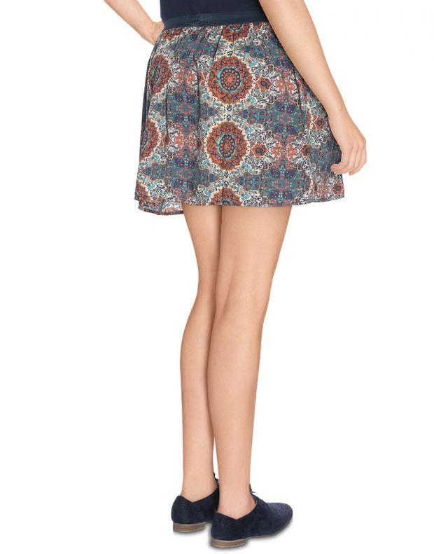 VERO MODA Cream Ethno Print Skirt - 3