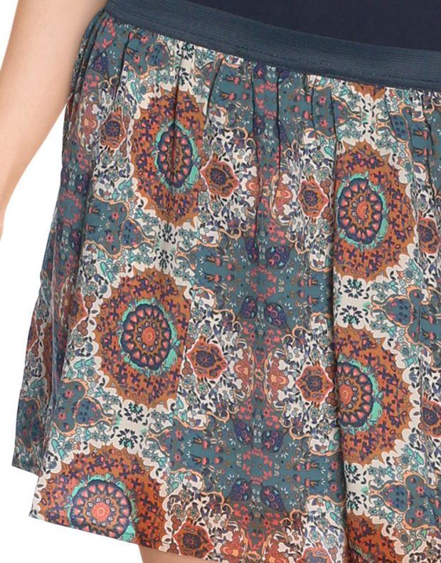 VERO MODA Cream Ethno Print Skirt - 4