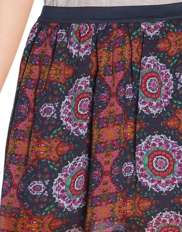 VERO MODA Dark Ethno Print Skirt - 56294/adobe - 4