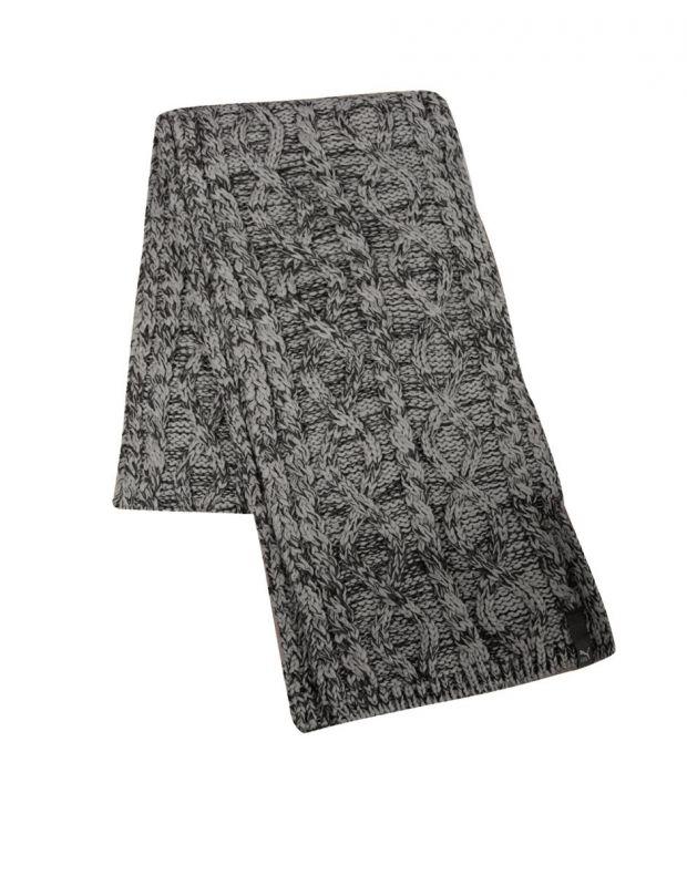 PUMA Unisex Knit Scarf Grey 052599-02