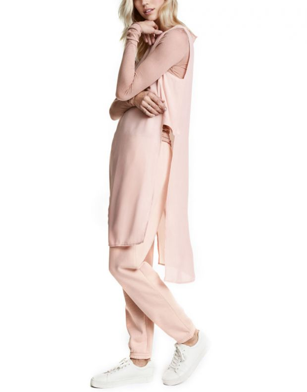 H&M Crepe Tunic Pink - 1
