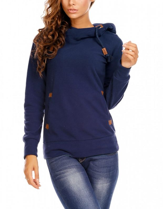SUBLEVEL Bella Sweatshirt Blue - 1