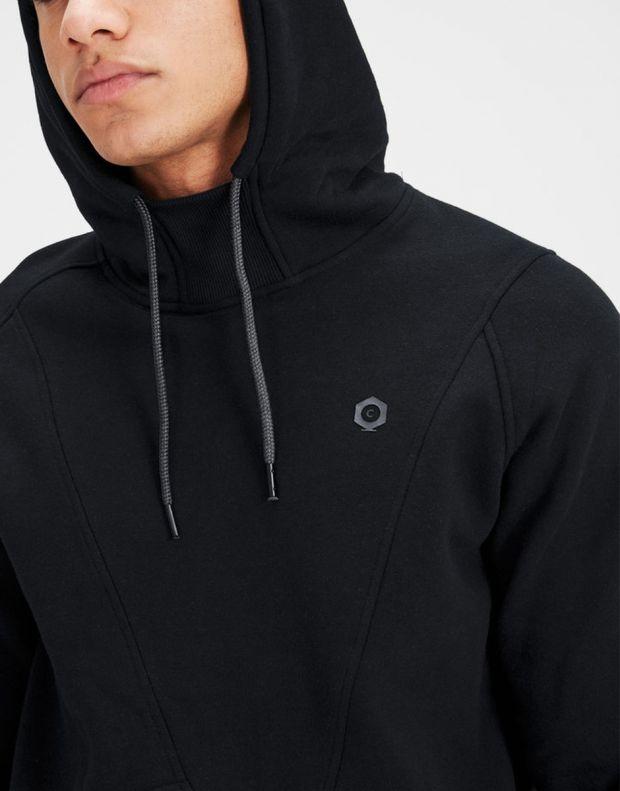 JACK&JONES Detailed Sweatshirt Black - 5