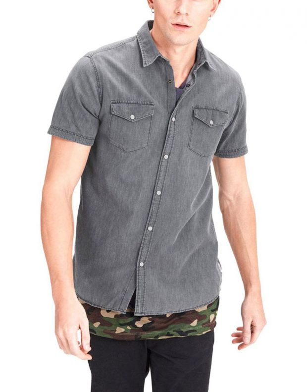 JACK&JONES Casual Denim Shirt - 1