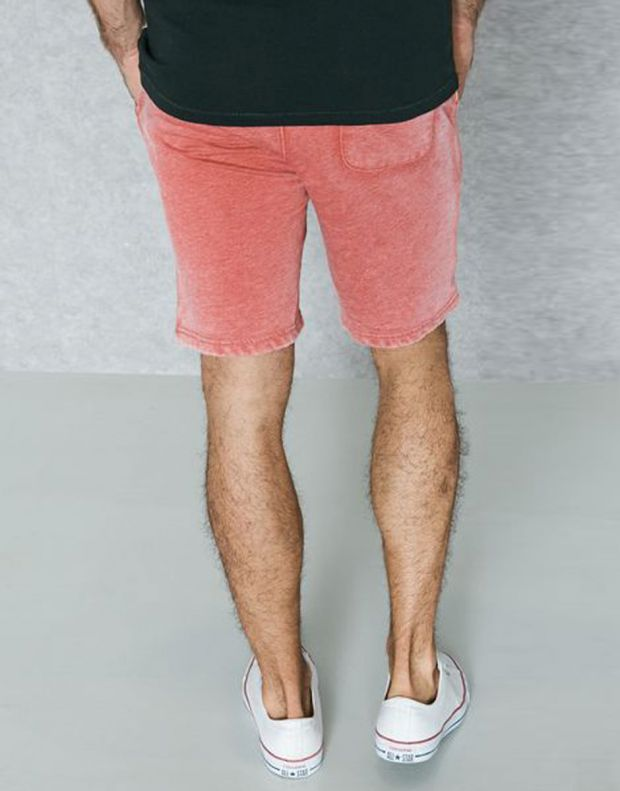 JACK&JONES Vintage Fade Shorts Red - 3