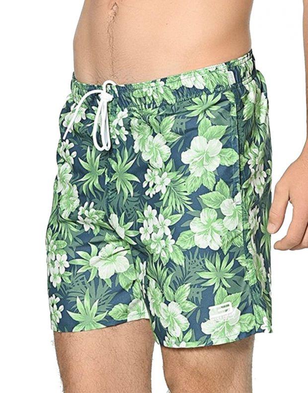 JACK&JONES Tropic Plant Shorts Green - 2